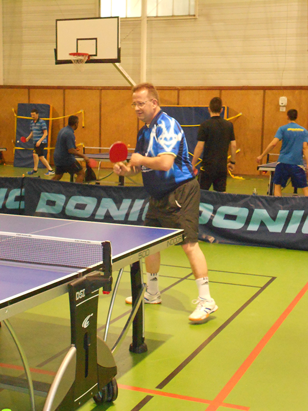 Entrainement tennis de table Jouy le Moutier Vauréal